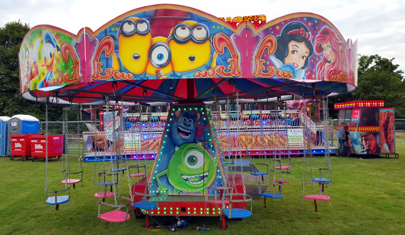children's fairground rides for hire