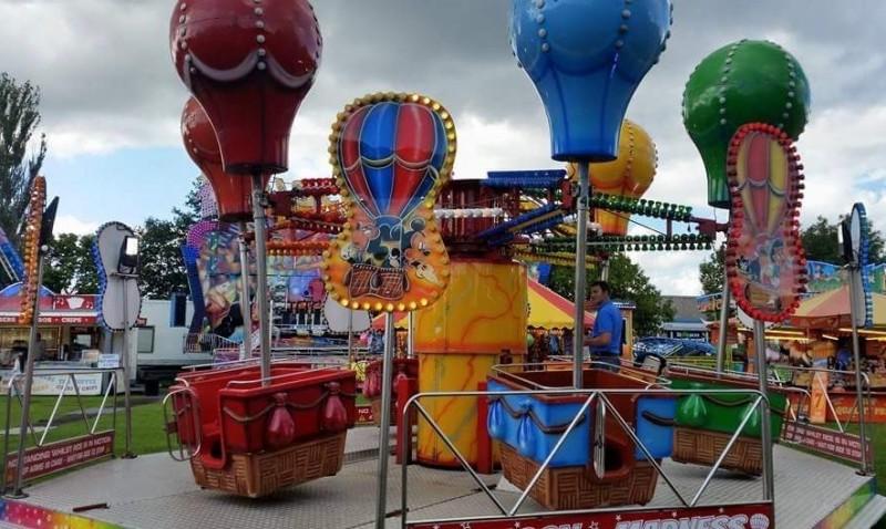 children's fairground rides for hire