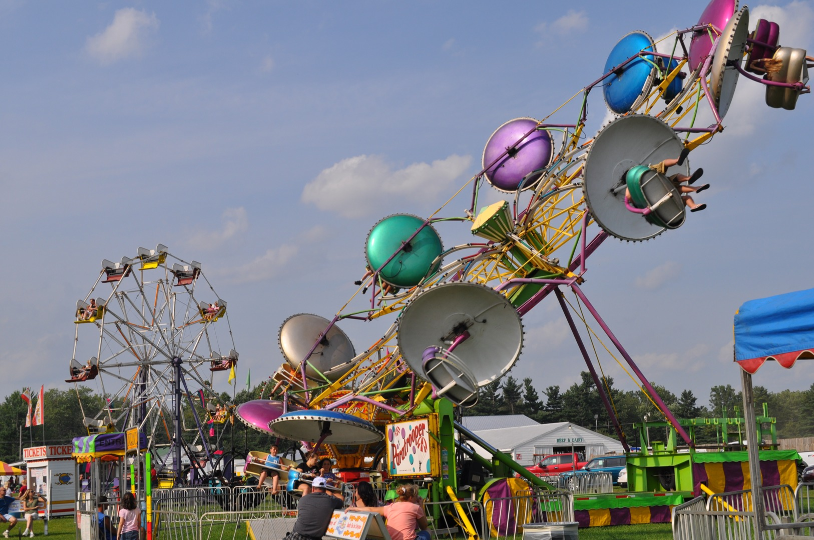 funfair rides for hire