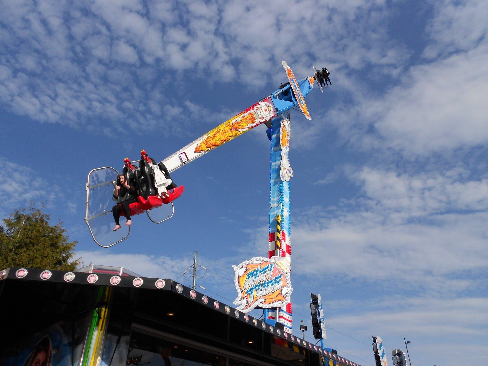 best festival funfair rides