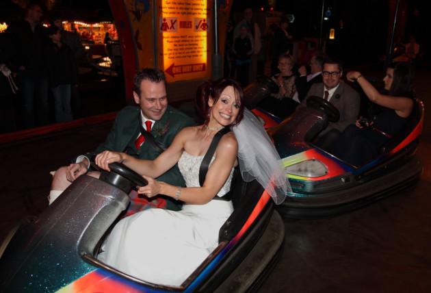 bumper car hire wedding