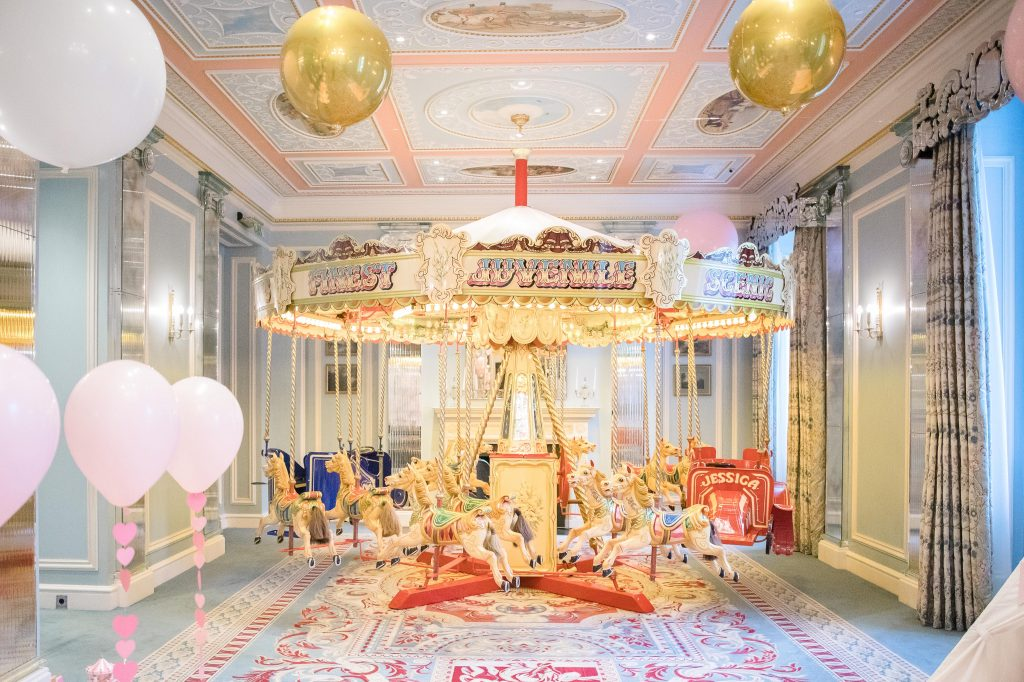 Traditional childrens carousel for hire