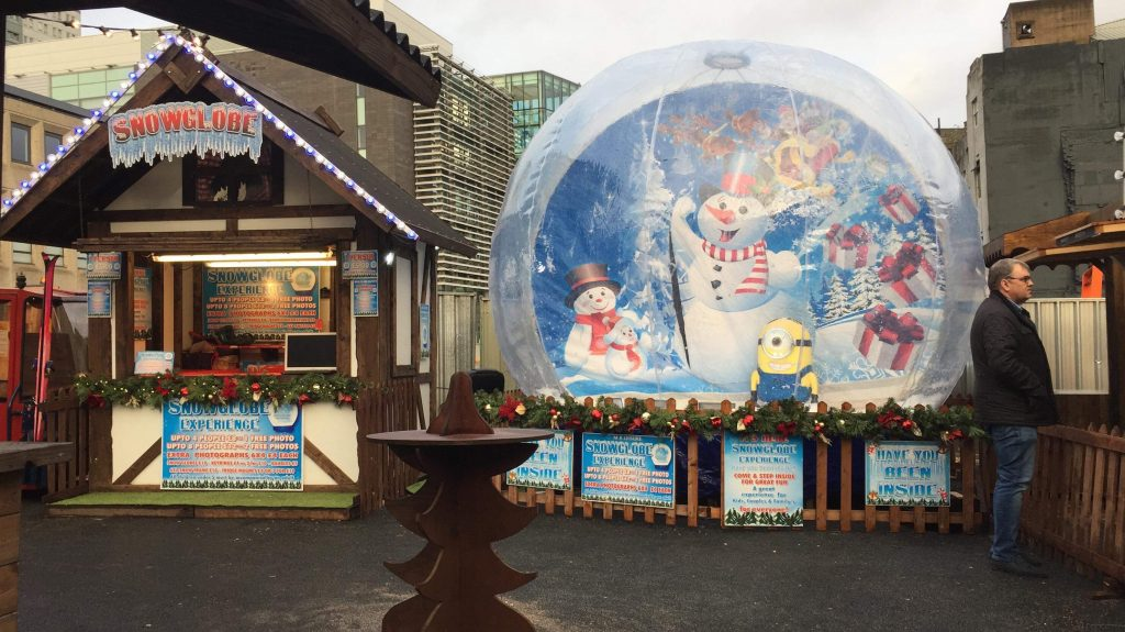 snow globe hire