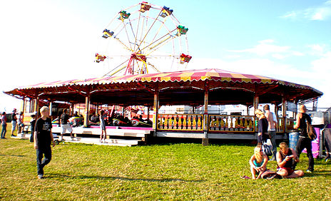 Traditional fairground rides