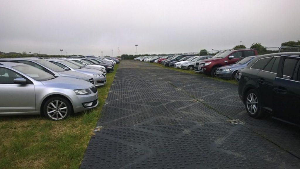 Temporary Car Park matting