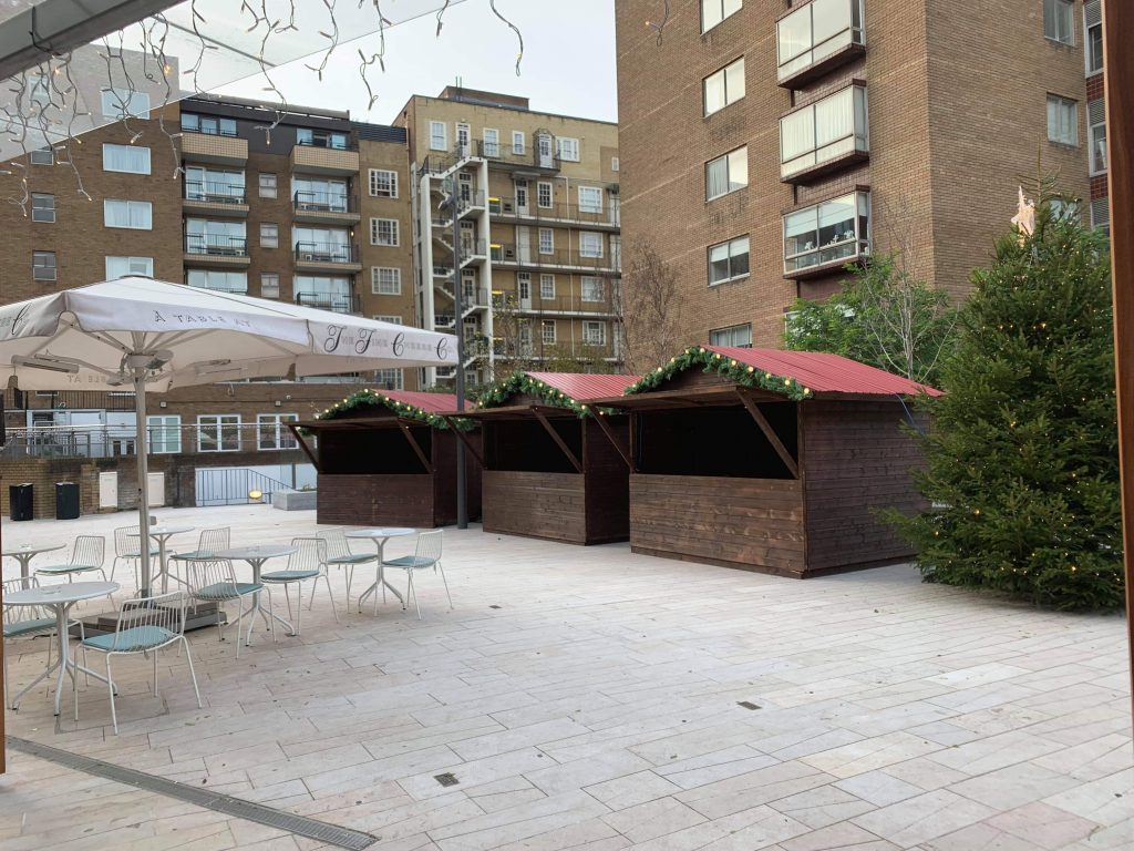 christmas market stall hire