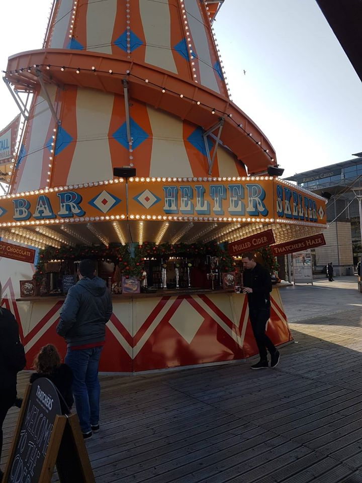 helter skelter bar hire