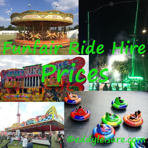 Funfair ride hire prices