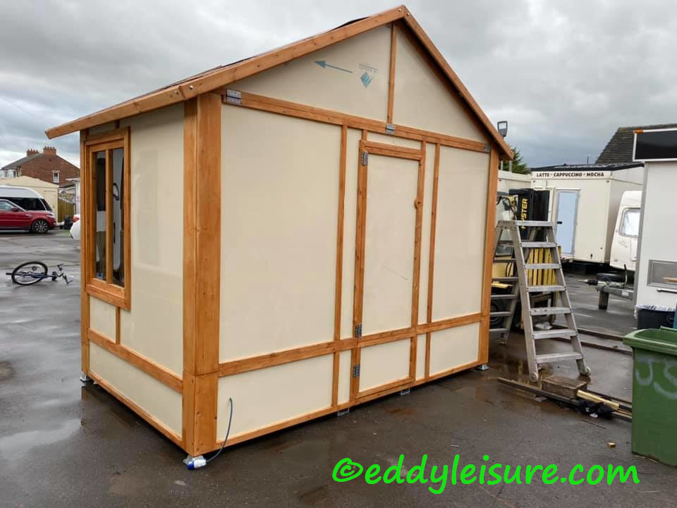 Christmas market huts for sale