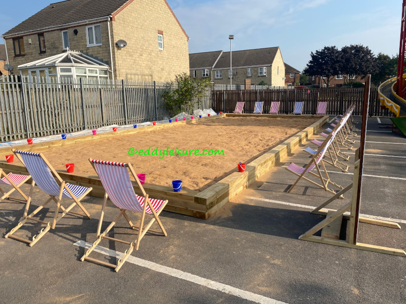 Giant sand pit hire