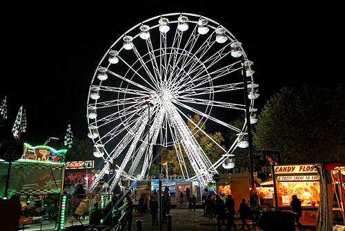 Giant ferris wheel hire