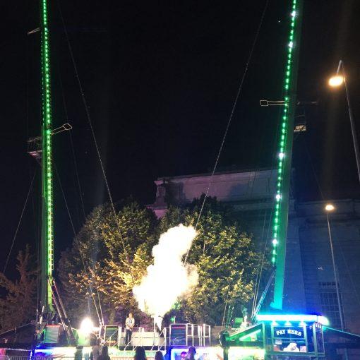 Charity bungee jump