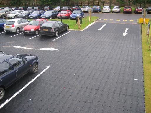 Temporary Car Park matting hire