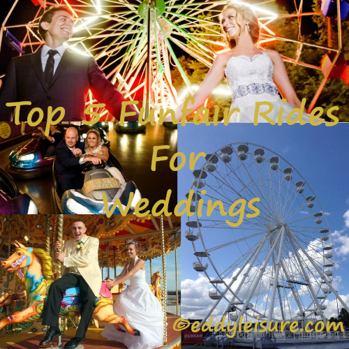 top 5 funfair rides for weddings